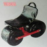 Two Solid Wheel Garden Work Seat Cart