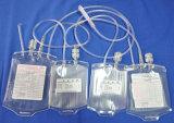 Disposable Quarter Blood Bag for Medical Use (Tubular Film)