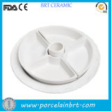 Fashion Ceramic Snack Platter and Fruit Tray