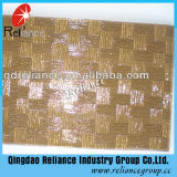5mm Amber/Grey/Bronze Patterned Glass
