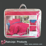 Transparent PVC Bedding Bag with Handle