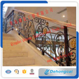 Outdoor Ornamental Wrought Iron Balcony Railing