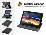 New Rotary Leather Case for Motorola Driod Xyboard 10.1 Inch 360 Degree Tablet PC Leather Case