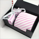 Men's Silk Woven Necktie with Gift Sets (WL17)