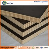 Black / Brown / Red Face and Back Color Waterphoof Film Faced Plywood Construction Board
