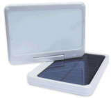 Rotatable and Foldable Solar Mobile Phone Power Bank Charger with LED Light