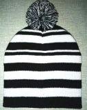 Beautiful Stripe Keep Warm Knitting Cap (S-1077)