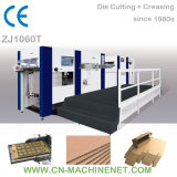 ZJ1060TA Paperboard/Cardboard/Corrugated Paper Flatbed Die Cutter, Automatic Intelligent Computerized