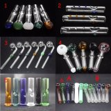 Colorful Glass Oil Burners Glass Tobacco Hand Pipes Steam Roller