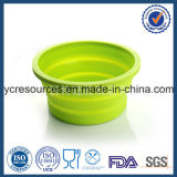 Silicone Folding Bowl, Pop-up Travel Bowl (HA53004)