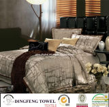Luxury High End Poly-Cotton Jacquard & Embroidery Bedding Set
