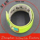 Wholesale Cheap Bulk Reflect Light Metal PVC Wrist Strap