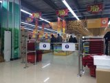 Dual Mechanical with Barrier, Swing Gate, Supermarket Gate, Entrance Gate, Manual Swing Gate