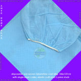 Disposable Medical Lab Coat with Knitted Cuffs or Elastic Wrists