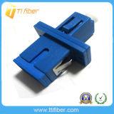 Sc-LC Singlemode Simplex Fiber Optic Hybrid Adapter with Flange