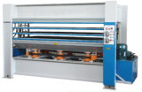 Xinlihui Brand 800 Ton 10 Layer Film Faced Hot Press with Ce