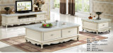 Europe Furniture, Royal Living Room Furniture, Coffee Table, TV Stand (1502)