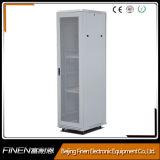 Grey Mesh Door Floor Standing Cabinet with 4 Fans