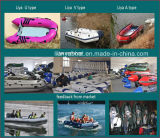 2.7m-5.5m Liya Marine Supplies PVC Funny Inflatable Boat