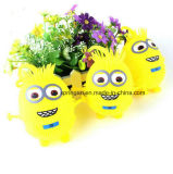 Kids Plastic Toy with Flash Fuzzy Ball Minions