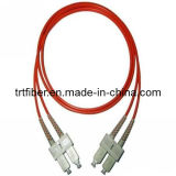 SC/UPC-SC/UPC MM DX Fiber Optical Patch Cord (SC fiber jumper)