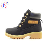 Family Fitted Kids Children Injection Safety Working Work Boots Shoes for Outdoor Job (SVWK-1609-050 BLACK)