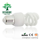 T3 15W 8kh Tri-Phosphor CE/RoHS Approved High Efficiency Half Spiral Energy Saving Bulb (CFLHST38kh)