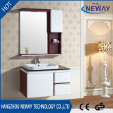 Simple Waterproof Wall Mounted Makeup Bathroom Cabinet PVC