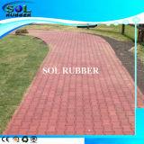 High Density Outdoor Horse Walkway Floor Paver Rubber Brick