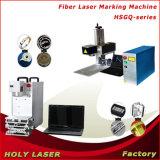 Portable Fiber Laser Marking Machine for Print Color on Steel