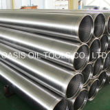 Oasis High Quality Stainless Steel Continuous Slot Wire Wrapped Johnson Screens Casing Pipe
