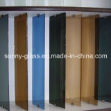 3-6mm Clear / Tinted Louver Glass for Window