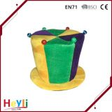 High Quality Mardi Gras Hat Decor Colorful Ball