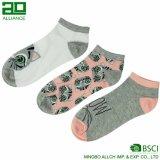 Custom Logo Cotton Womens Ankle Socks