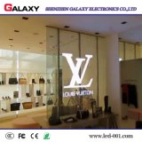 P3.75/P5/P7.5/P10/P16/P20 Fixed Indoor Transparent/Glass/Window/Curtain LED Video Wall Display Screen/Sign for Advertising