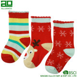 Wholesale Happy Knitted Cute Baby Custom Christmas Stockings