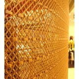 Brass Wire Mesh with Good Extensibility