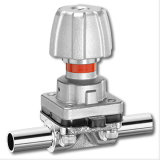 Sanitary AISI 316 Smaller Diaphragm Valve Stainless Manually Handle