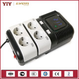 Pr Microprocessor Controlled Socket Automatic Voltage Regulator AVR 2000va for Computer /TV/Printer