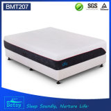 OEM Compressed Visco Gel Memory Foam Mattress 30cm with Double Jacquard Fabric Cover and Wave Foam