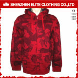 High Quality Hot Selling Mens Red Camo Hoodies (ELTHI-66)