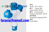 3p Multi Output Economic Industrial Power Socket Plug with Ce