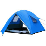 3-4 Person Double Layer Storm Outdoor Camping Hight Quality Tent