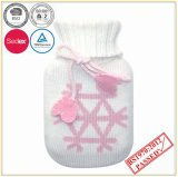 Small Hot Water Bottle with Good Quality Knitted Cover