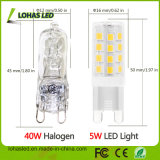 Mini LED Corn Bulb Light 5W Warm White G9 Bulb