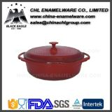 Non Stick Cast Iron Enamel Cookware Round Casserole Pot