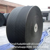 High Quality Steep Angle Chevron Rubber Conveyor Belt
