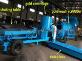 100tph Alluvial River Gold Washing Machine