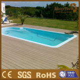 Mould Resistant Anti-Slip Easy Installation WPC Composite Outdoor Co-Extrusion Decking