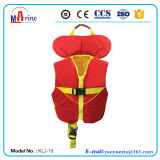 Big Buoyancy Dual Collar Children Life Vest